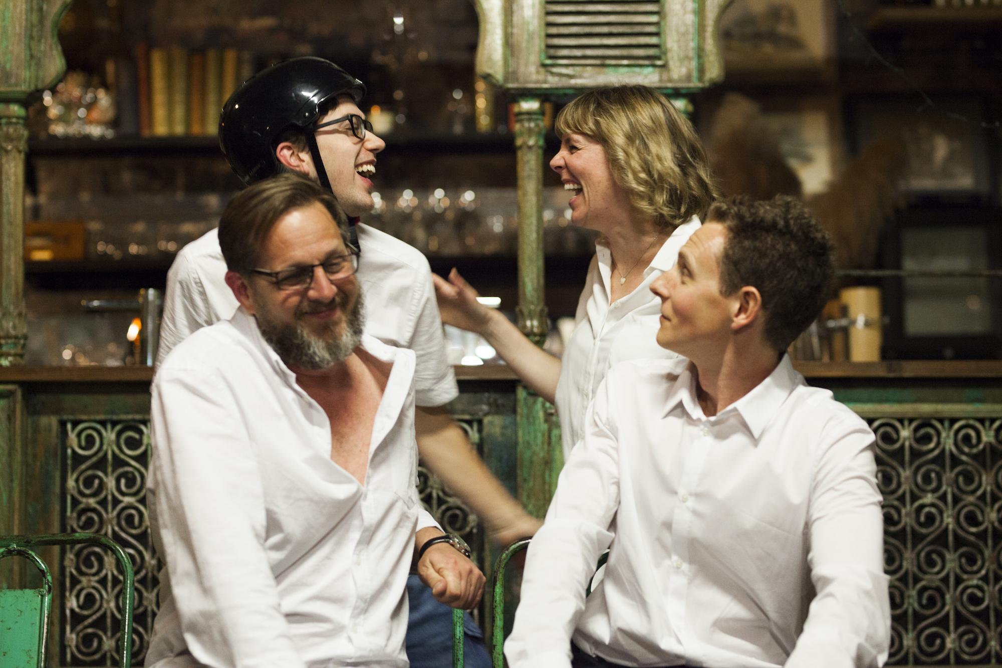 Scott Gooding, David Kambouris, Lauren Bailey, Luke Mason - Photo - Pier Carthew